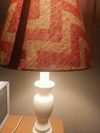 brown and white table lamp Wichita, 67214