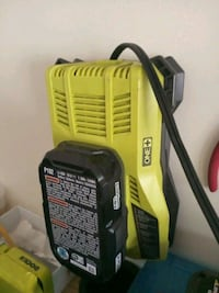 Ryobi charger with knew battery