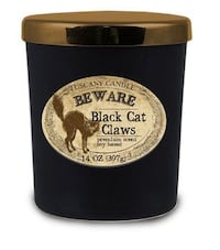 """Tuscany Candle BEWARE Black Cat Claws """"Harry """"Potter edition"""" Lexington, 40505"""