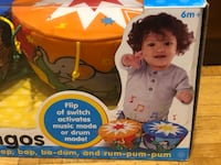 Melissa & Doug K's Kids Bongo Drums Soft Musical Instrument