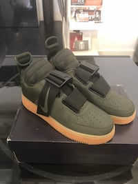 Nike Air Force 1 utility olive men's 8 New Orleans, 70130