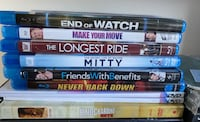 Sony HD Blu-Ray & 6 New Dvds Hackensack, 07601