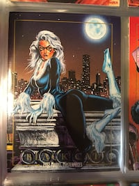 Marvel Black Cat trading card Cashmere, 98815