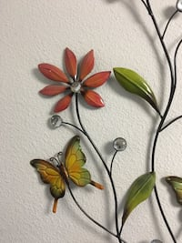 two green and red butterfly decors Cerritos, 90703