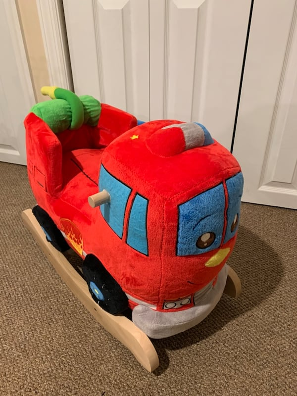 Rockabye fire engine rocker 0