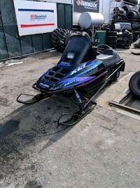 blue and black Indy XLT snowmobile Summerland, V0H 1Z7