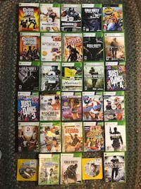 Xbox 360 S, Games, & Controllers
