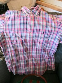 pink, white, and blue plaid shorts Augusta, 30901
