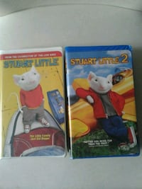 2 x Stuart Little VHS movies Kitchener, N2K 4J7