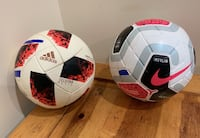 Two Great Leather Soccer Balls Edmonton, T6X 1L3