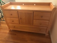 Solid Wood Dresser with Changing Table Option MAMARONECK