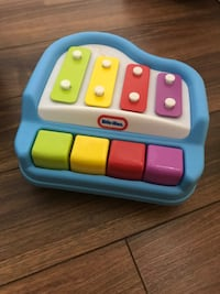 multicolored Little Tikes piano and xylophone toy Toronto, M3J 1W7