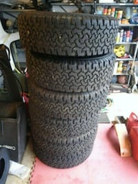 All terrain tires (like new)