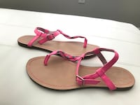 pair of pink-and-brown leather sandals Orlando, 32803