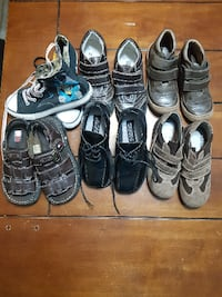 BOYS SHOES SIZE 13-1 1/2 WOODBRIDGE