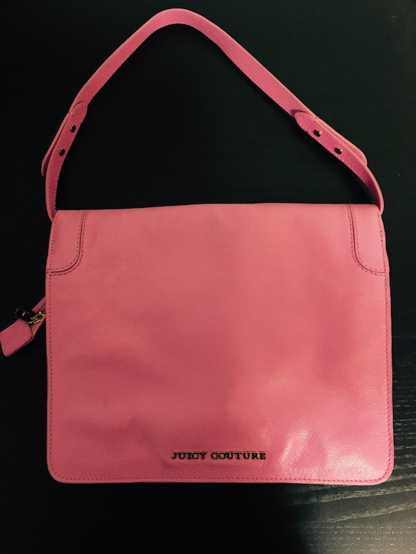 Juicy couture pink purse  1
