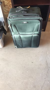 black and gray luggage bag Airdrie, T4B 3A1