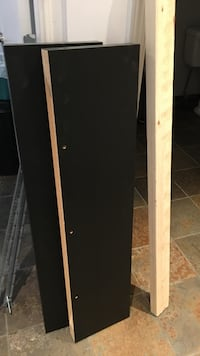 White and brown wooden cabinet North Vancouver, V7M