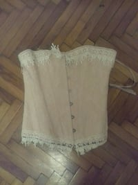 Small vintage overbust corset Budapest, 1056