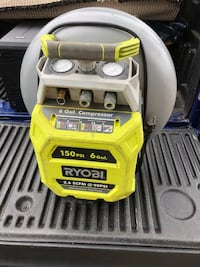 Air compressor with 150' of air line works great  Cambridge, N1R 4J2