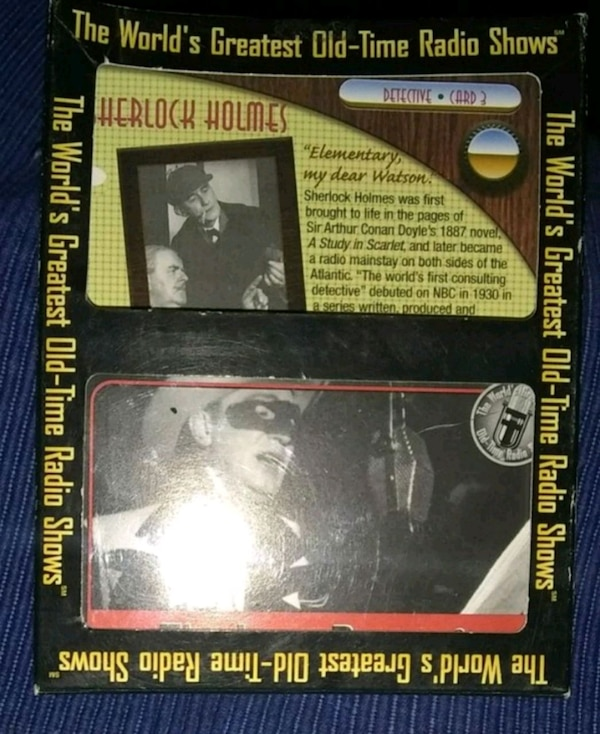 Lone ranger collector cassette old radio show