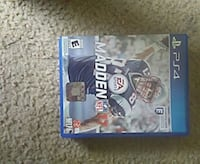 Madden NFL 17 PS4 game case Martinsburg, 25405