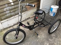 black and purple BMX bike London, E17 3JJ