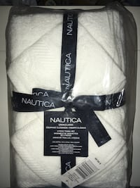 Nautica Towel Set 6pc Bath Towel,Hand Towel,Wash Cloth New in Package