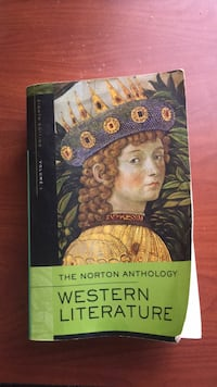 The Norton Anthology Western Literature Charlotte, 28262