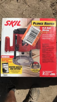 Brand new wood router, never used still in box Fresno