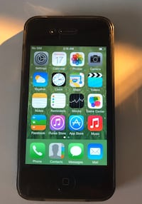 iPhone 4 16gb black Vancouver, V6P 4P8