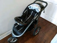 baby's black and gray jogging stroller Toronto, M2N 7C4