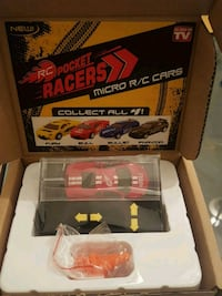 RC Pocket Racers - Brand new.  Mississauga