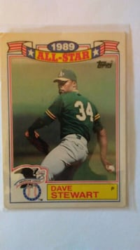 Dave Stuart 1989 Commemorative set.
