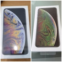 3 new Iphone xs max.   Gold and grey Winnipeg
