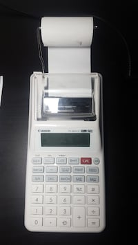 Canon Printing Calculator White Grey Brampton