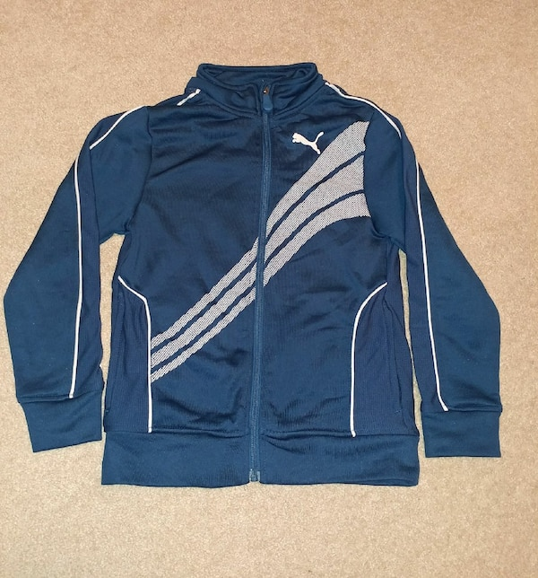 Kids Blue Puma Sweater