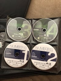 Numb3rs: the complete series. Don't have original cases but will have them in a binder for whoever buys. DVD's are in like new condition.  Boonsboro, 21713