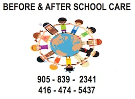 Before & After School Care in Pickering- 6:30-9:00am & 3-6:15pm