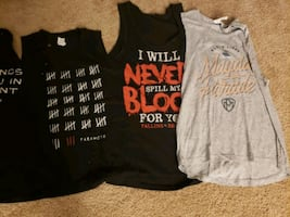 Band Tank Top Bundle All Size Small