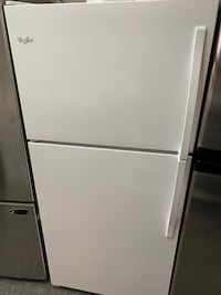 Whirlpool top and bottom fridge with warranty  Manassas, 20110