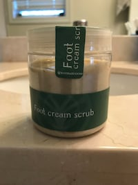 Foot Cream Scrub