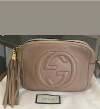 Gucci Soho Disco Bag Rose Beige- 100% Authentic (PRE OWNED)