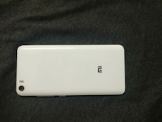 white Xiaomi Android smartphone