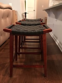 Used Pier 1 Imports 3 24 Quot Stools 45 Ea For Sale In