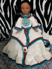 New Vintage Indian Doll 1988