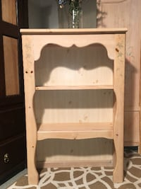BEAUTIFUL Solid Pine Bookcase Castle Shannon
