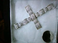 925. Solid silver big cross Lancaster