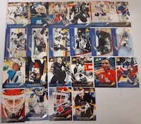 22 Great NHL Goalies... $5  Firm For All 22 Cards. Calgary