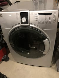 white front-load clothes washer Calgary, T2Y 4E4